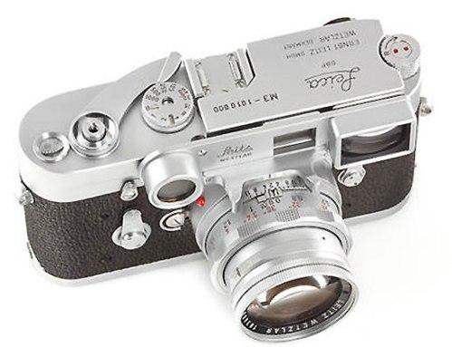 Leica-M3-Chrome