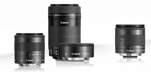 EOS-M-lenses