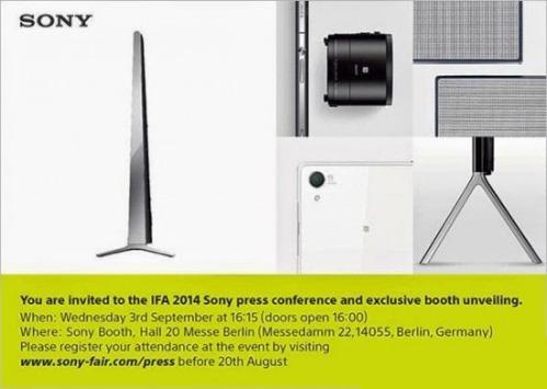 Sony-IFA-inivitation