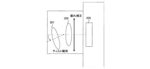 Canon-tiltshiftis-patent