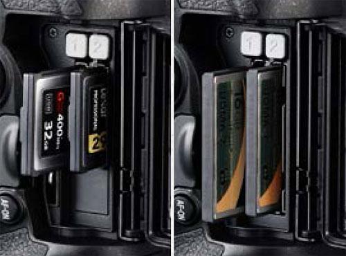 Nikon-D5-XQD-CF