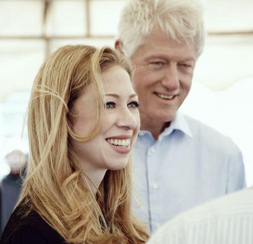 Chelsea-&-Bill-Clinton-Hous