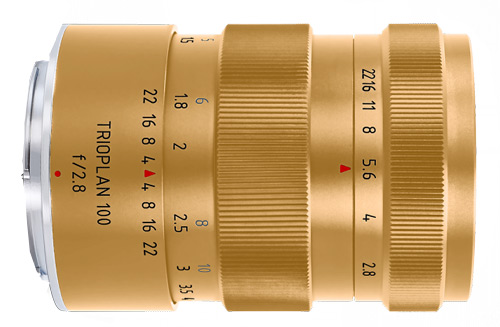 Trioplan-100-mm-f2.8-gold